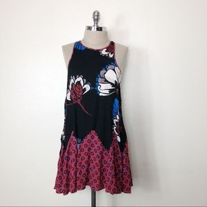 FREE PEOPLE INTIMATELY FLORAL DRESS SMALL